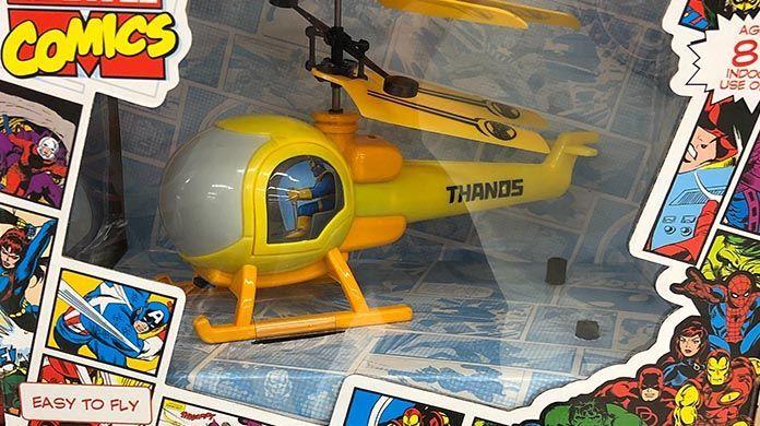 thanoscopter walgreens marvel
