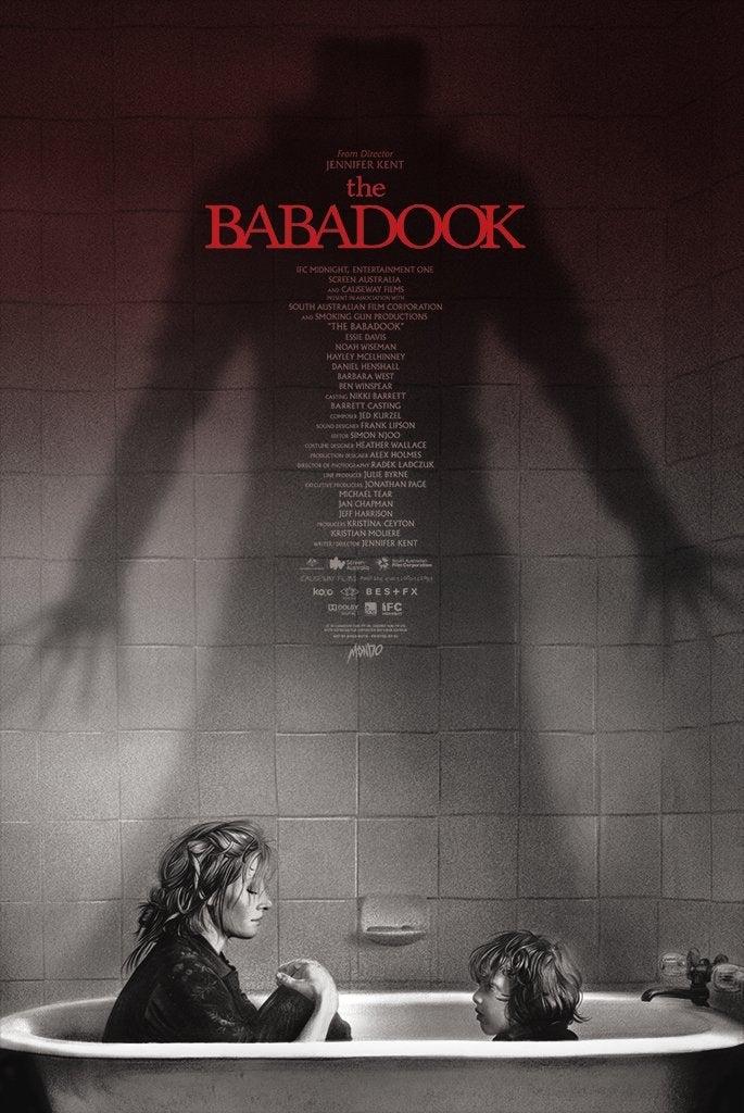 the babadook poster mondo
