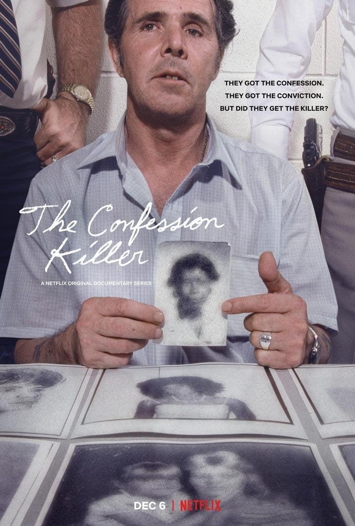 the confession killer poster henry lee lucas