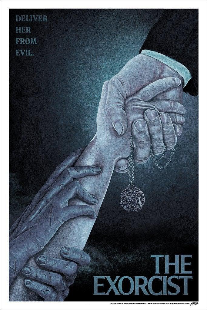 the exorcist mondo poster