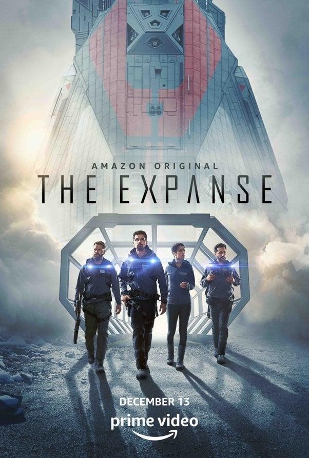 a expansão temporada 4 poster