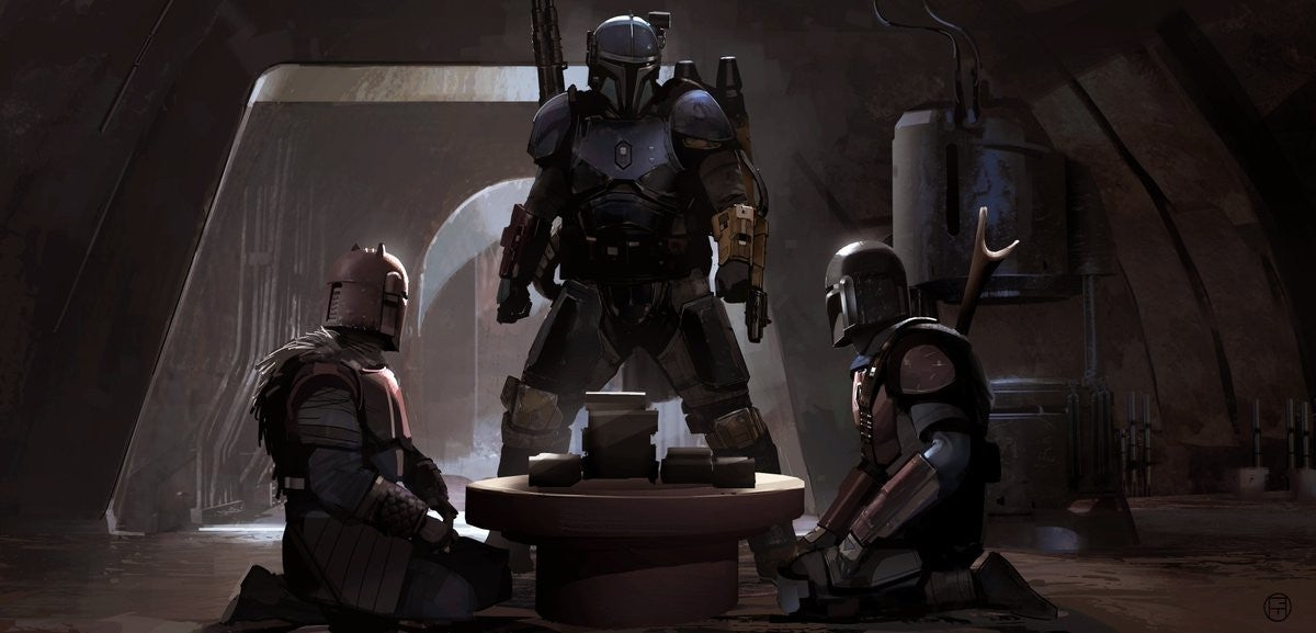 The Mandalorian Chapter 3 The Sin Concept Art - Mandalorian Clan