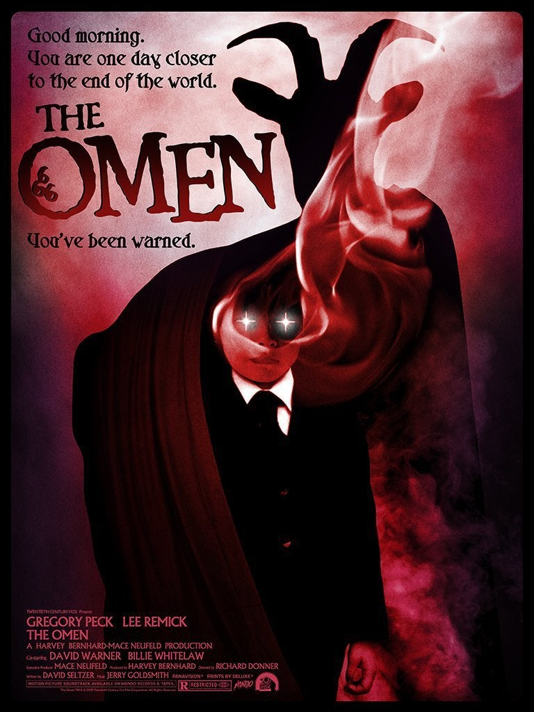 the omen mondo poster