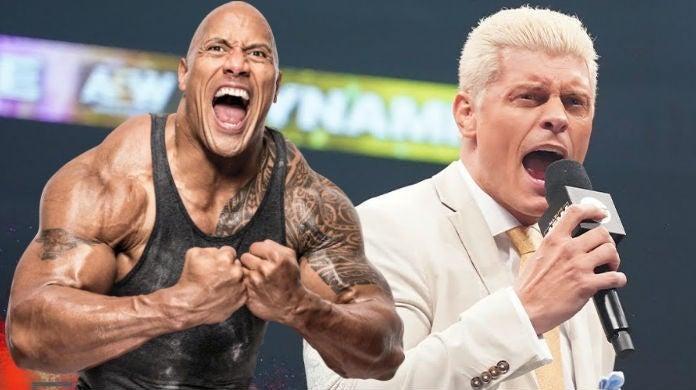 The-Rock-Cody-Rhodes-AEW
