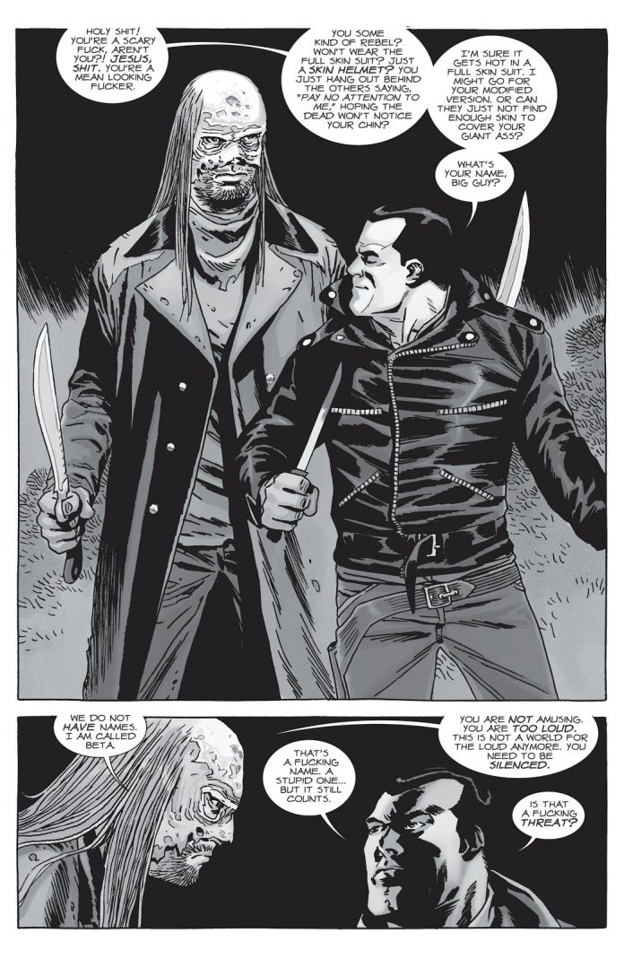 The Walking Dead 154 Negan Beta