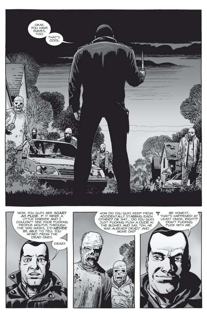 The Walking Dead 154 Negan Whisperers