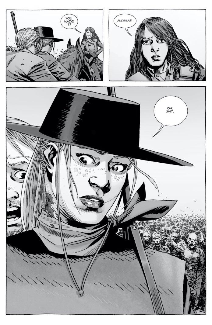 The Walking Dead 165 Andrea