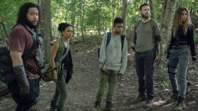 The Walking Dead Aaron 1008