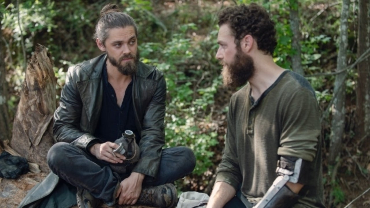 The Walking Deads Ross Marquand Confirms Aaron And Jesus