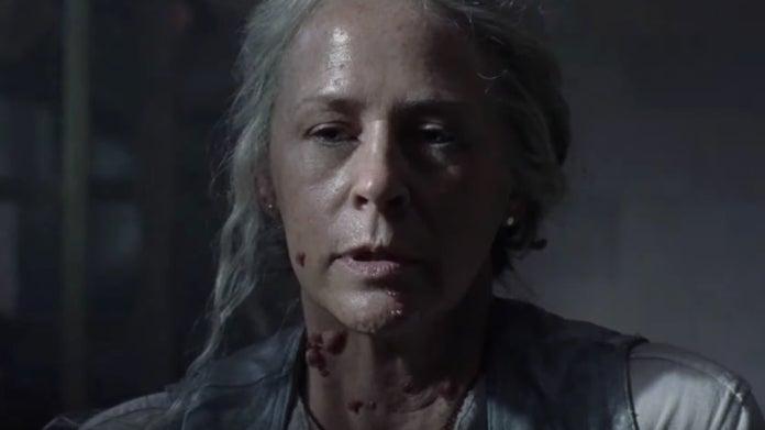 The Walking Dead Carol Open Your Eyes 1007