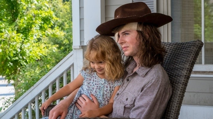 The Walking Dead Chandler Riggs Carl Judith