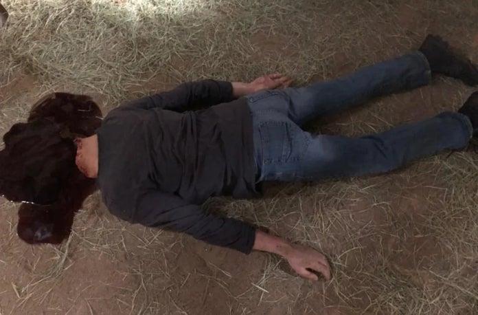 The Walking Dead DJ decapitated