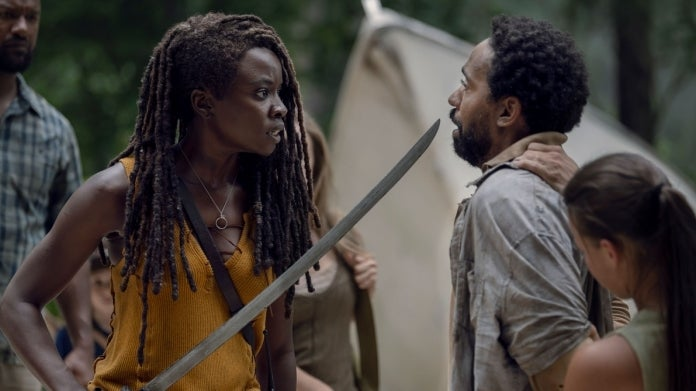 The Walking Dead Michonne Virgil The World Before