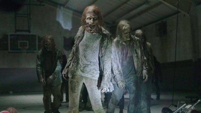 The Walking Dead Season 10 walkers