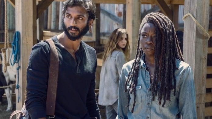 The Walking Dead Siddiq Michonne