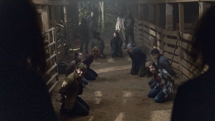 The Walking Dead Whisperer killings barn