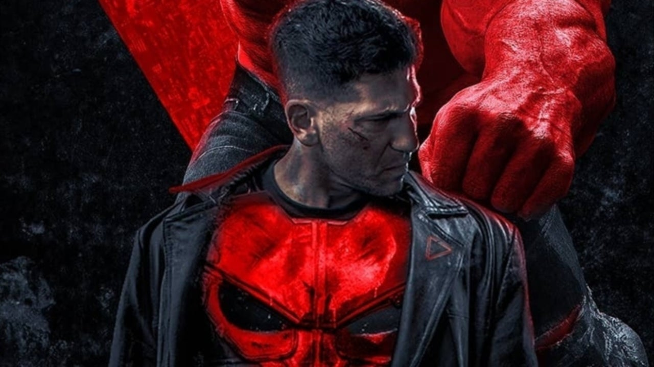 Thunderbolts Fan Poster Imagines The Punisher and Red Hulk Joining Forces in the MCU