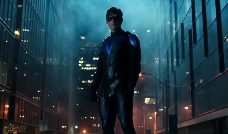 titans nightwing costume