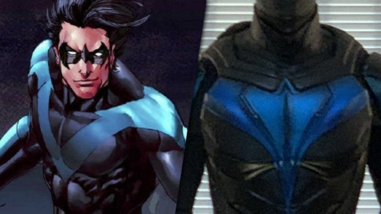 Nightwing Costume Revealed for Titans Season 2 Finale on DC Universe