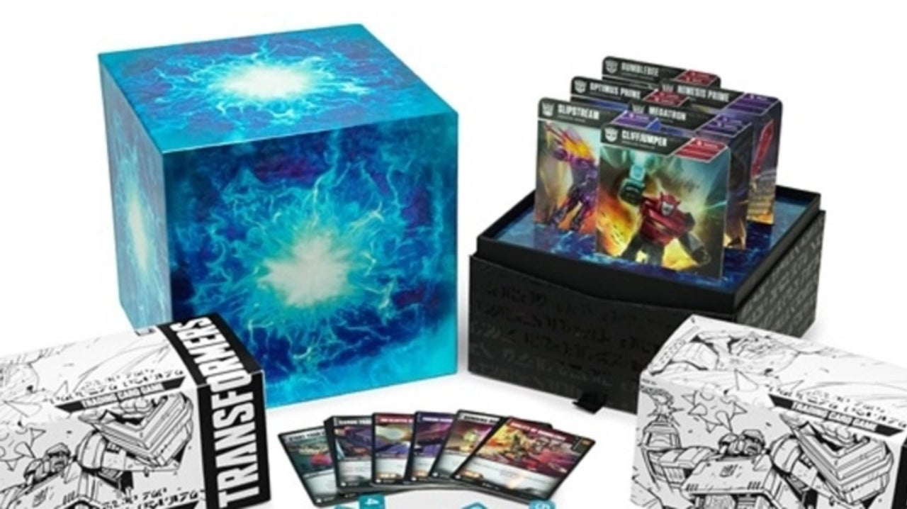 Transformers TCG Gets Amazing Wave One: Energon Edition Set