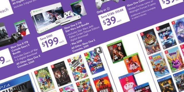 Here Are Walmart's Best Black Friday 2019 Gaming Deals