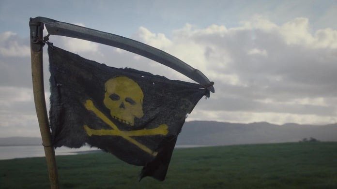 Watchmen HBO Game Warden's Flag