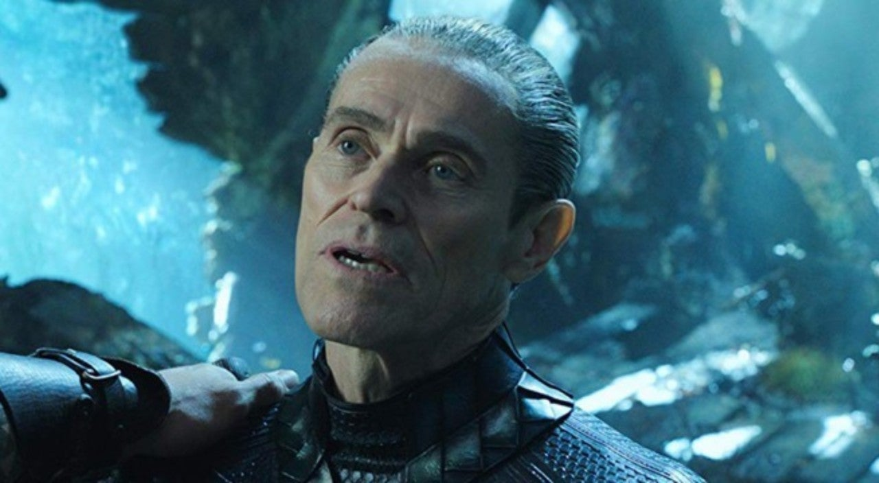 Aquaman Star Willem Dafoe Says Some Modern Superhero Movies Are Overshot and Too Noisy