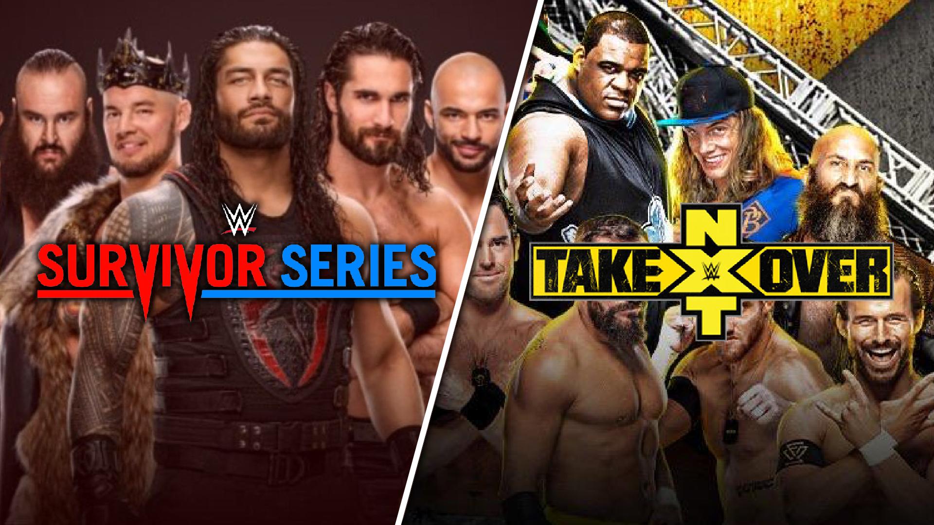 WWE Survivor Series & NXT TakeOver: WarGames 2019 Preview screen capture