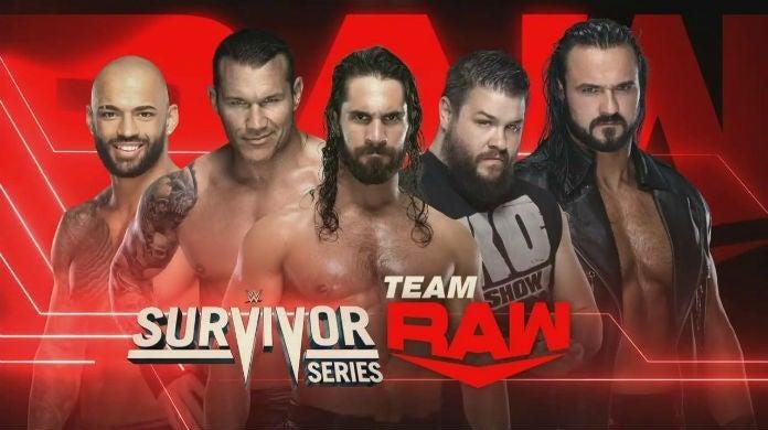 WWE-Survivor-Series-Team-Raw-Rollins-Orton-McIntyre-Owens-Ricochet