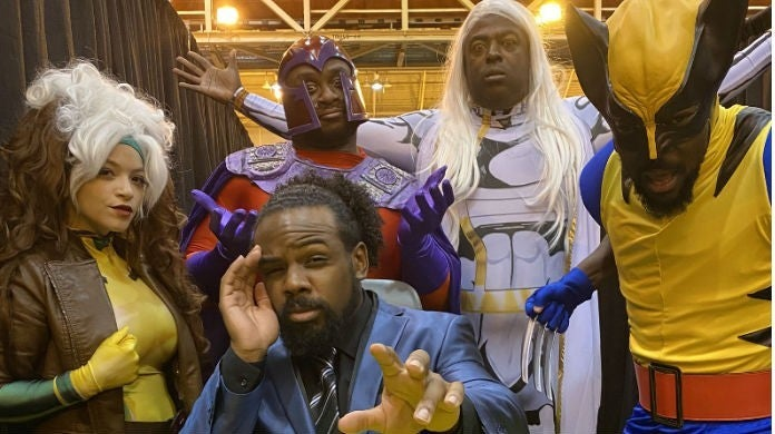 Xavier-Woods-Big-E-Kofi-Kingston-X-Men-Cosplay