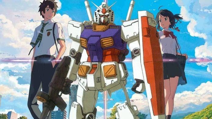 Your Name Gundam Makoto Shinkai
