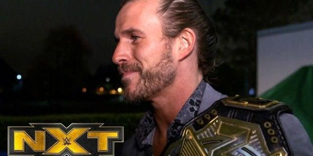 Watch: Adam Cole Reacts to Finn Balor Earning an NXT Championship Match