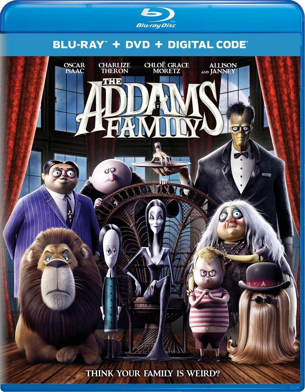 addams family blu ray 2019 animated