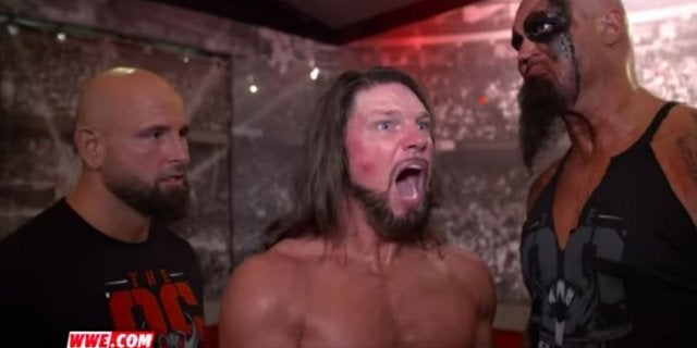 Watch: AJ Styles, The OC Cut a Hilarious Promo on Randy Orton After WWE Raw