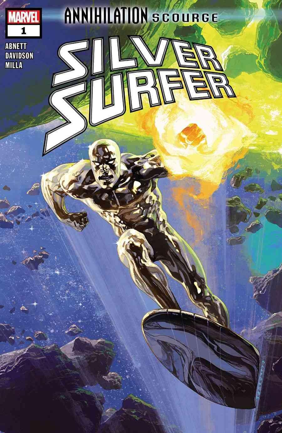 Annihilation - Scourge Silver Surfer