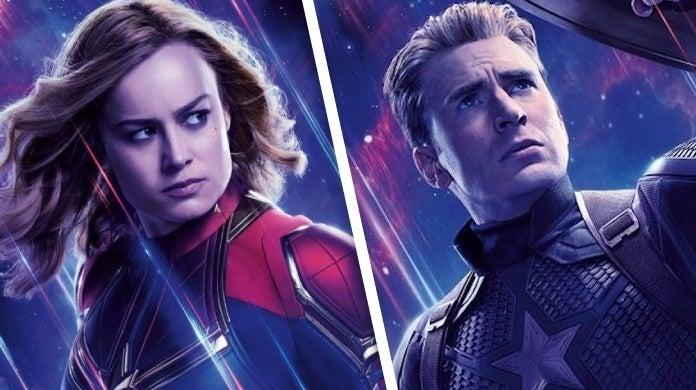 avengers endgame captain marvel captain america
