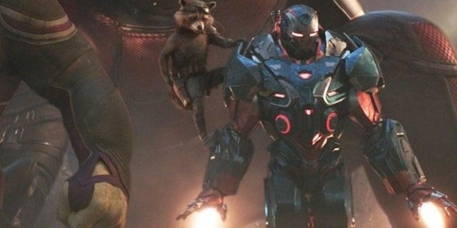Avengers: Endgame Script Reveals War Machine's Iron Patriot Armor Has Spacefaring Capabilities