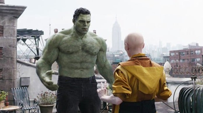 avengers endgame hulk ancient one scene