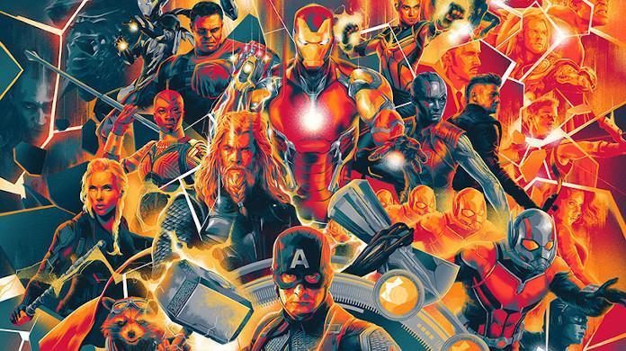 Avengers Endgame Mondo Poster