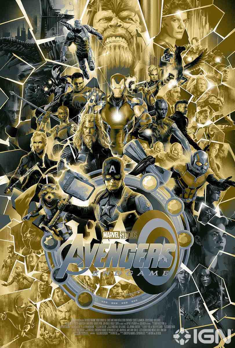Avengers Endgame Mondo Poster Variant