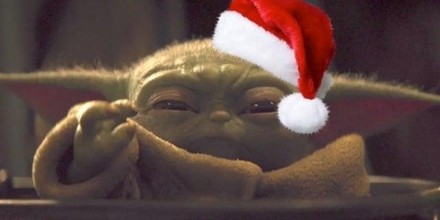 Baby Yoda Christmas Star Wars The Mandalorian