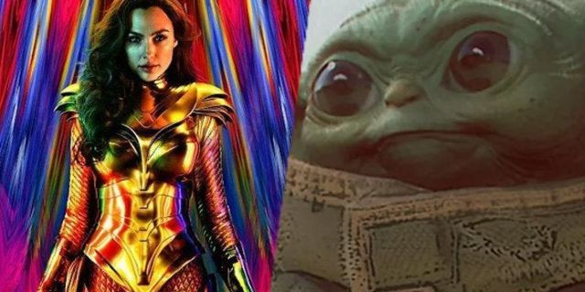 Wonder Woman 1984 Fan Uses Pedro Pascal to Create Mashup With Star Wars: The Mandalorian and Baby Yoda