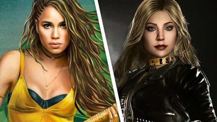birds of prey black canary injustice 2