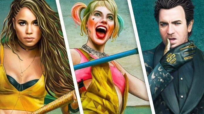 birds of prey character posters