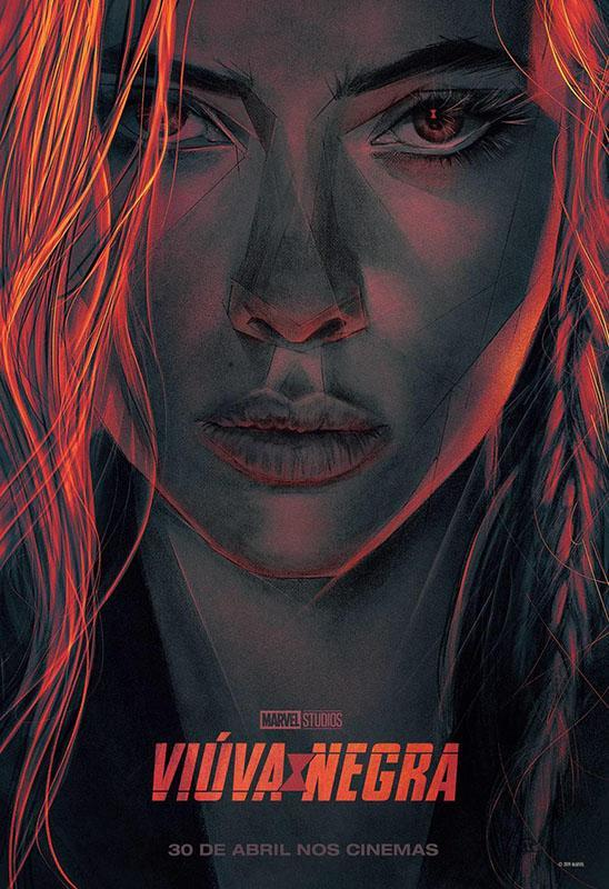 black widow ccxp poster marvel