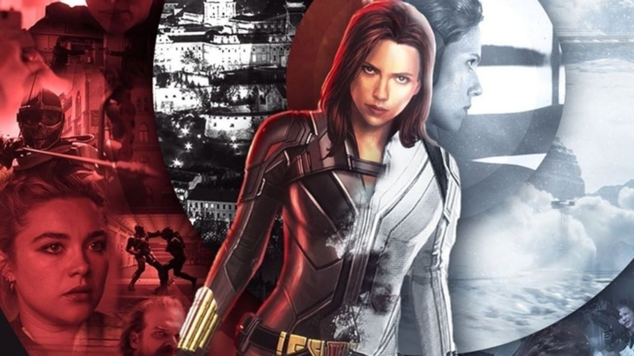 Epic Black Widow Fan Poster Combines The Two Worlds Of