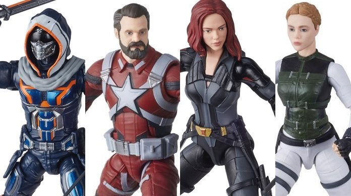 Black Widow Movie Marvel Legends Figure Wave Is Live