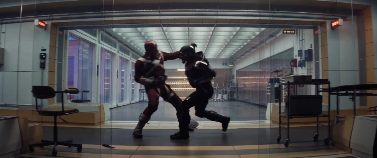 black widow taskmaster red guardian fight
