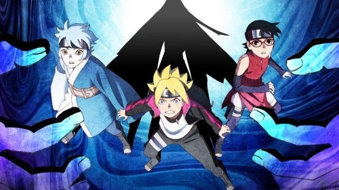 Boruto Naruto Mujina Bandits Arc Poster