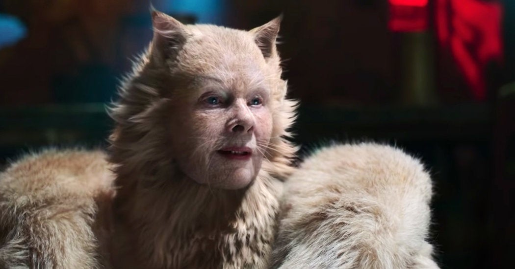 cats movie judi dench